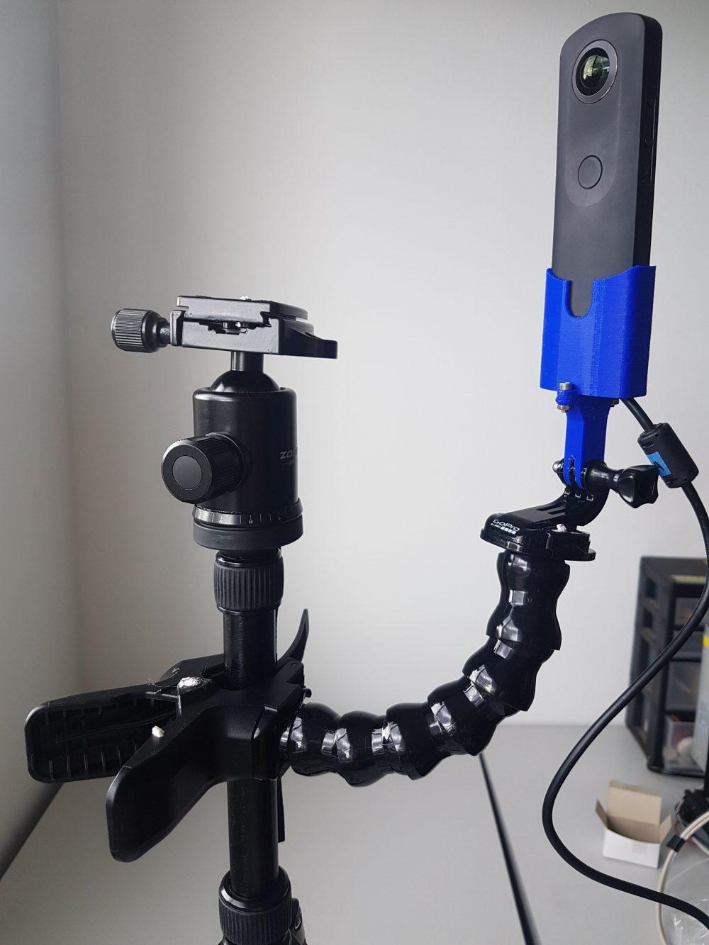 Acople para Ricoh-Theta y accesorios GoPro